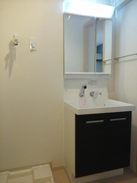 パークサイドK 02070号室の洗面所