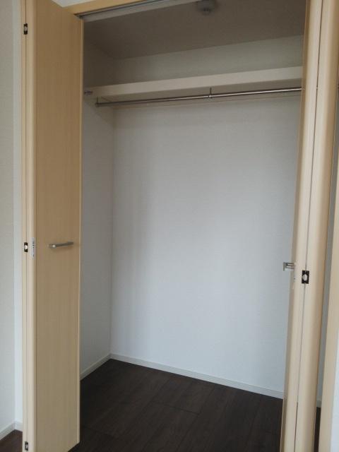 パークサイドK 02070号室の収納