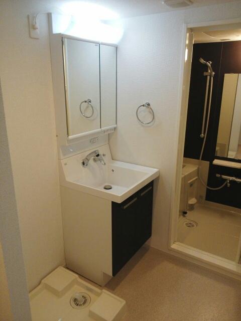 グランコーナ高崎 03040号室の洗面所