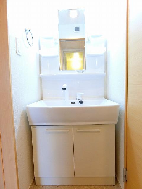 フルール ベルジェB 01030号室の洗面所