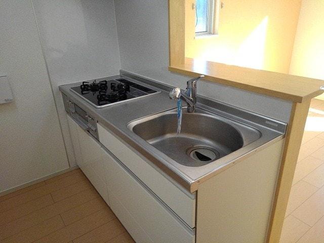 ローリエ国立亭 201号室のキッチン