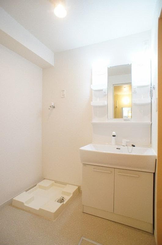 ロゼ MⅠ 02010号室の洗面所