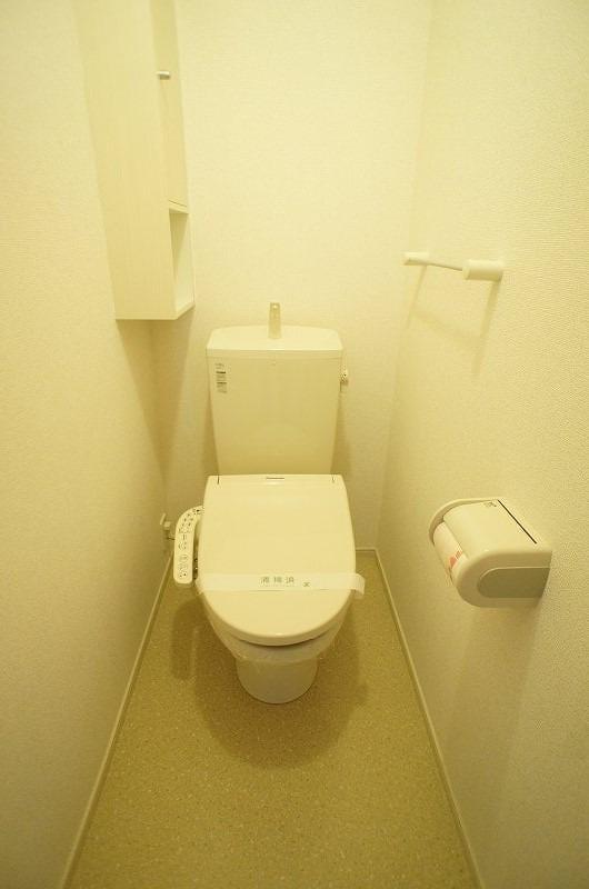 ロゼ MⅠ 02010号室のトイレ