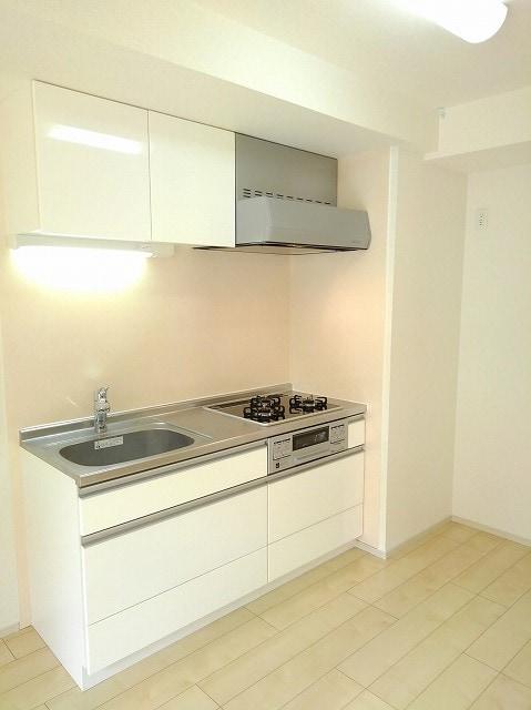 アンジュ 01020号室のキッチン