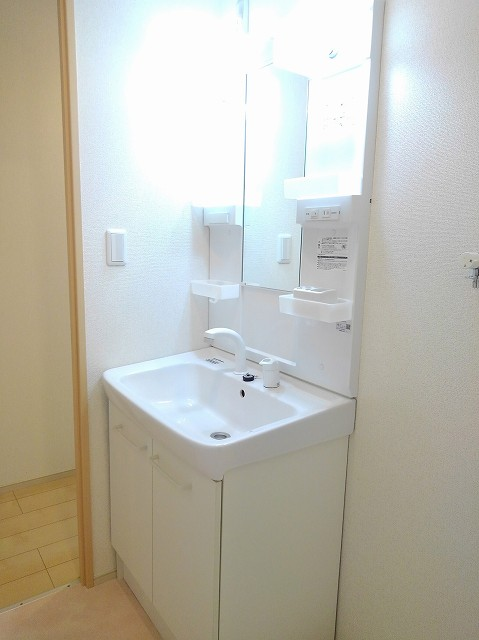 アンジュ 01020号室の洗面所