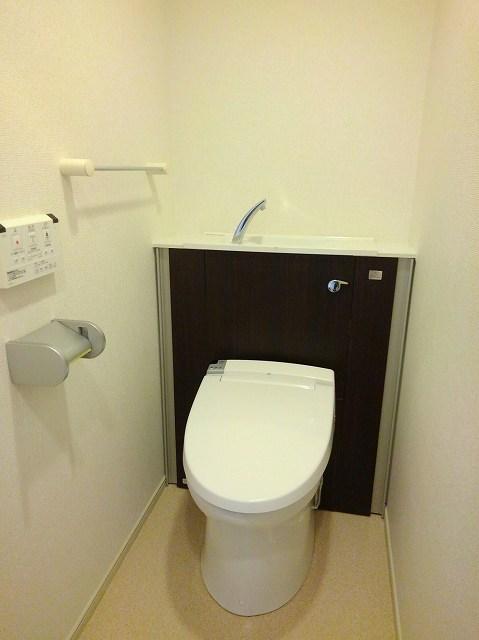 アンジュ 01020号室のトイレ