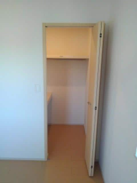 ルミエールⅢ 104号室のベッドルーム