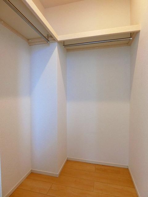 ネロミロスB 02020号室の収納