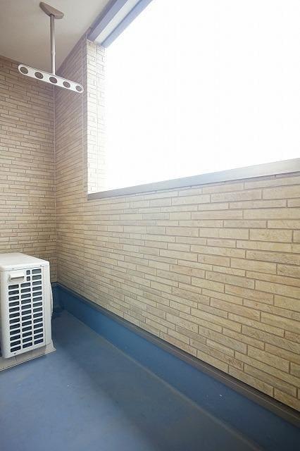 ネロミロスC 02020号室のバルコニー
