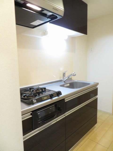 チェリーテラス 205号室のキッチン