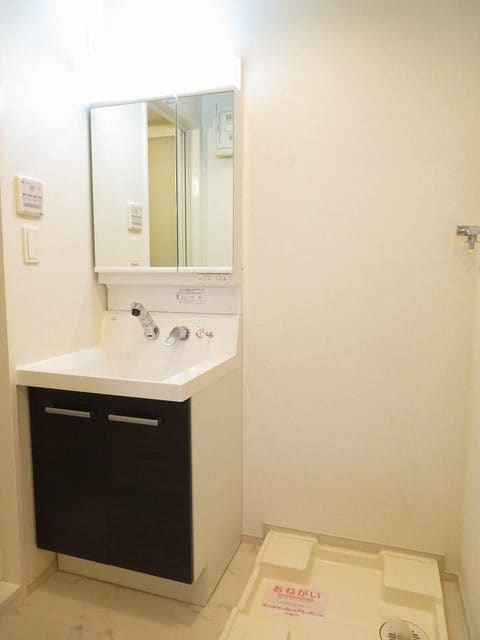 チェリーテラス 205号室の洗面所
