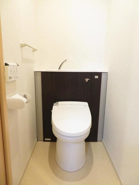 チェリーテラス 205号室のトイレ