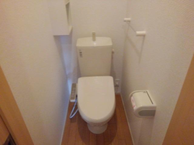 ショコラA 01020号室のトイレ