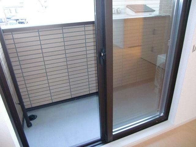 ショコラA 01020号室のバルコニー