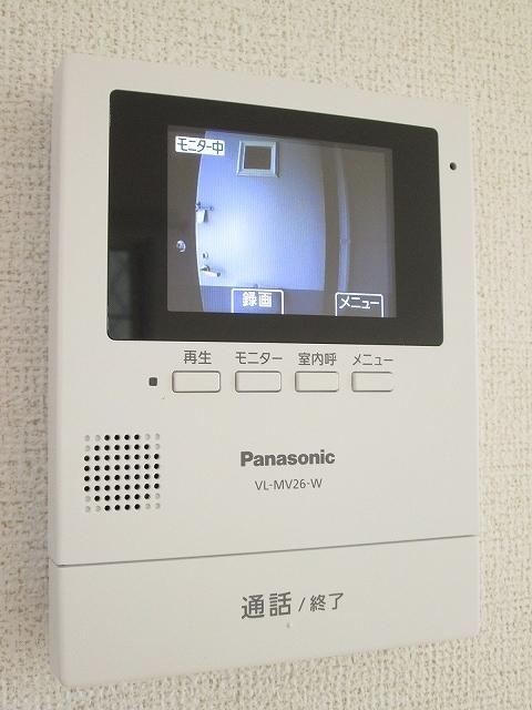 レスポワール 02010号室のセキュリティ