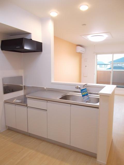 セリーナ 202号室のキッチン