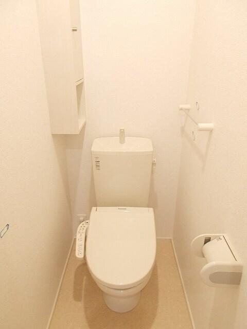 セリーナ 202号室のトイレ