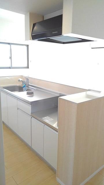 フィオーレ プリート Ⅰ 02020号室のキッチン