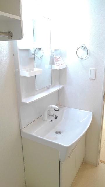 フィオーレ プリート Ⅰ 02020号室の洗面所