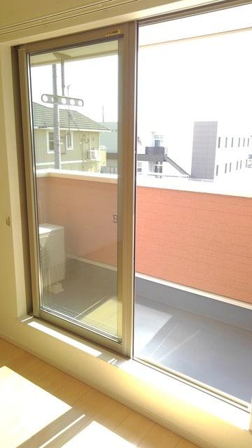 フィオーレ プリート Ⅰ 02020号室のバルコニー