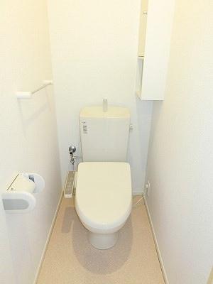 ル・レーヴM 202号室のトイレ