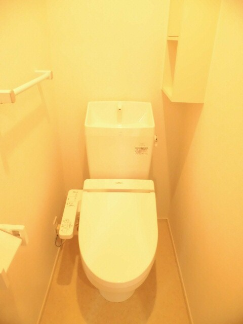 ウィークリー 202号室のトイレ
