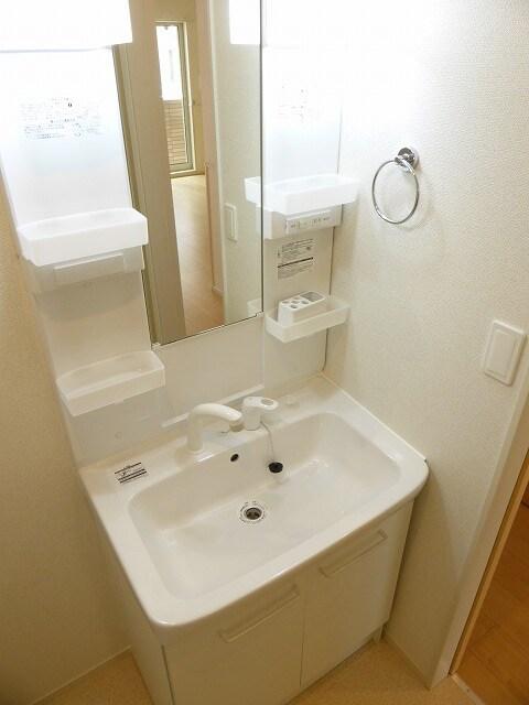 NEST 郷東 01040号室の洗面所