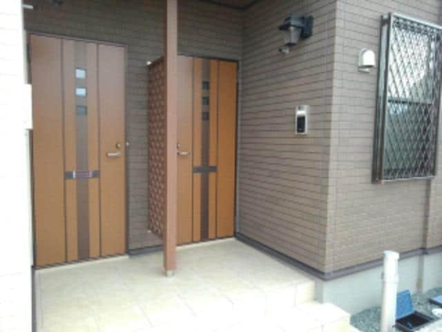 ベル パトリ 02030号室のエントランス