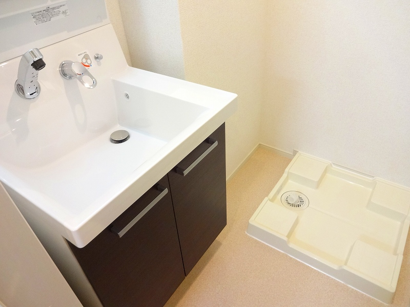 ブランジスタ並木 103号室の洗面所