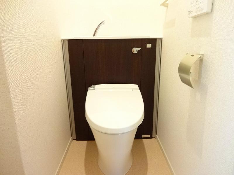ブランジスタ並木 103号室のトイレ