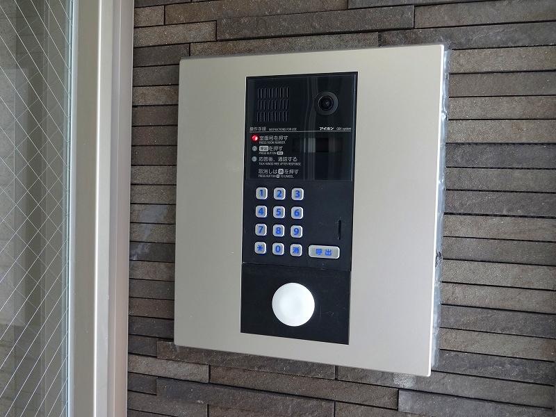 ブランジスタ並木 103号室のセキュリティ
