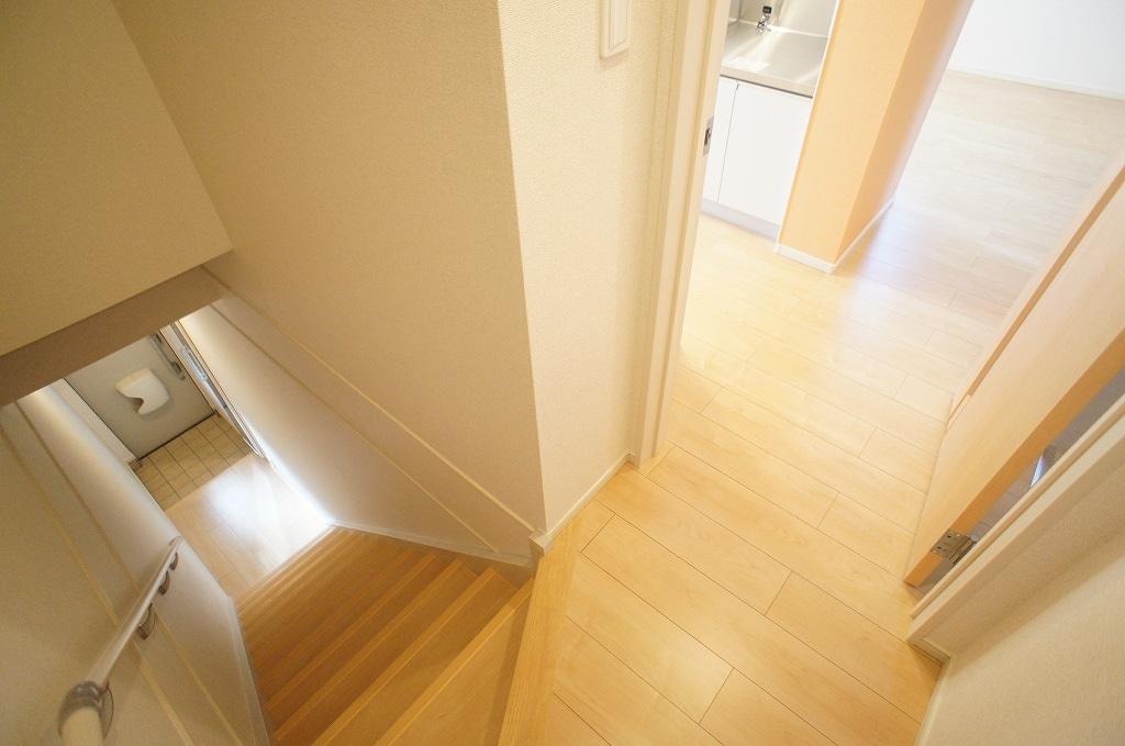 サニー・サイド 02010号室の玄関