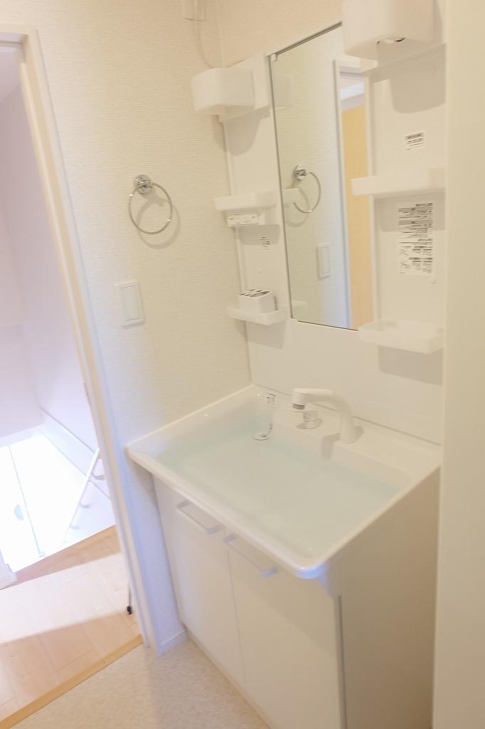 サン シャイン 202号室の洗面所