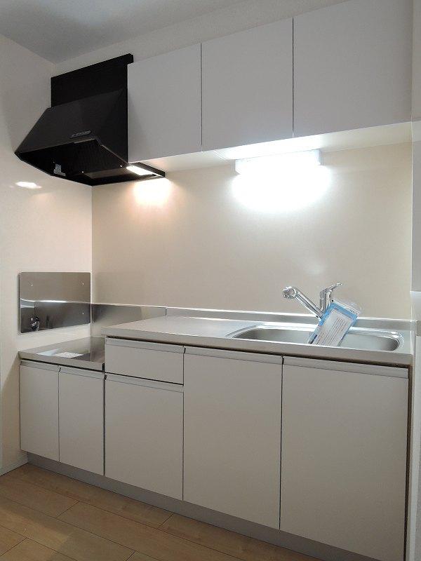 ライジングサンⅡ 203号室のキッチン