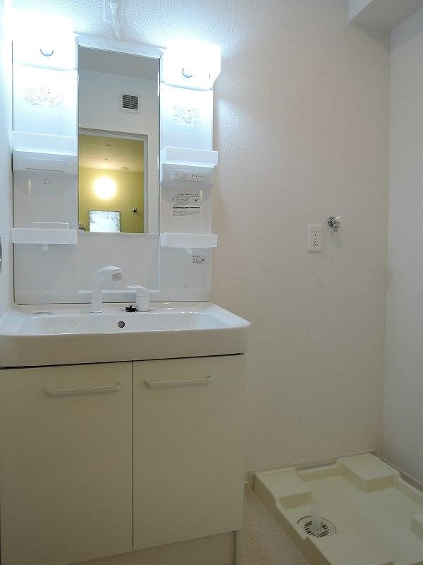 ライジングサンⅡ 203号室の洗面所