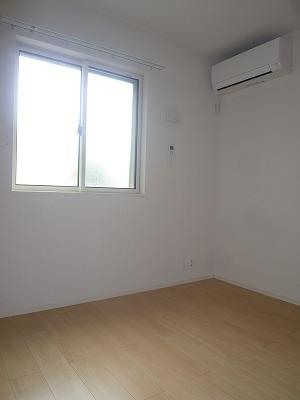 グリーンエバー 01040号室のベッドルーム