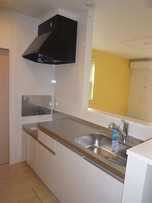 グリーンエバー 01040号室のキッチン