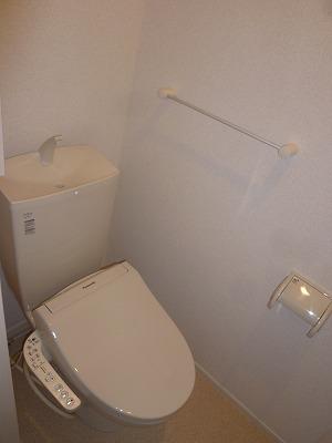 グリーンエバー 01040号室のトイレ