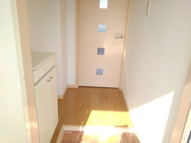 グリーンエバー 01040号室の玄関