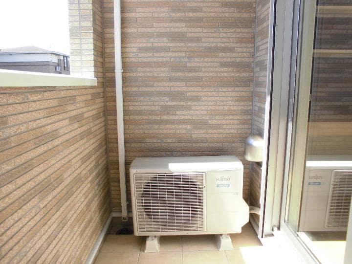 マリアパレスA 01020号室のバルコニー