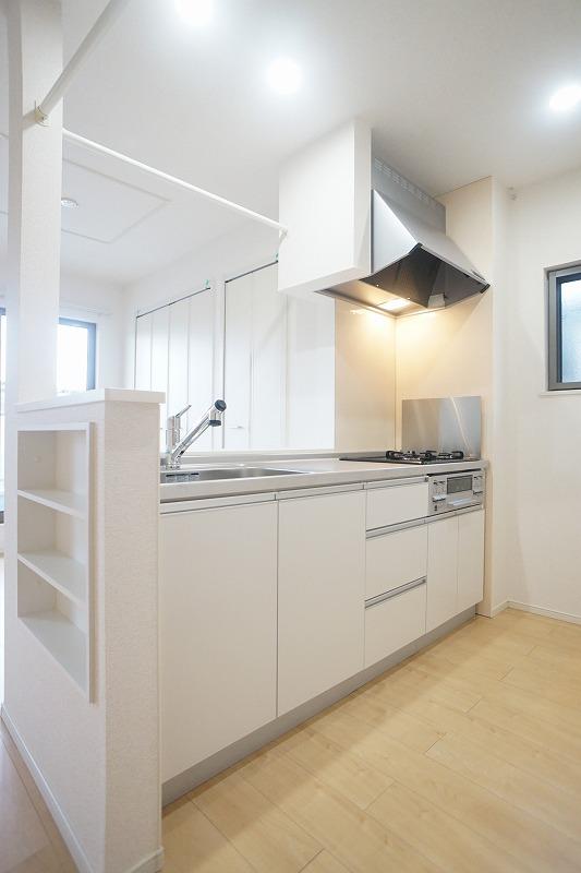 フィリアB 01010号室のキッチン