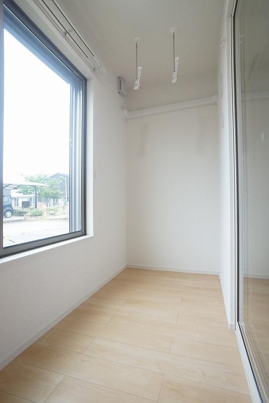 フィリアB 01010号室のバルコニー