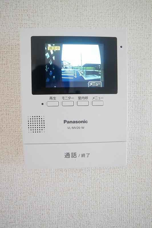 フィリアB 01010号室のセキュリティ