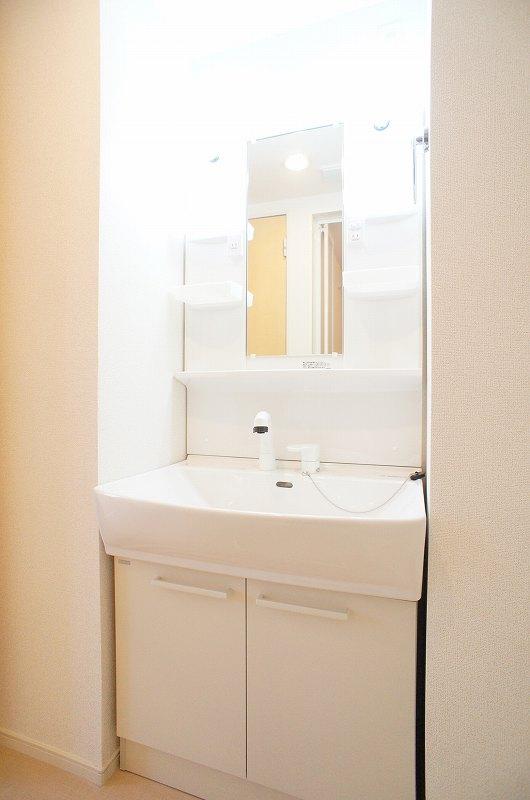 ゆりの木・Ⅵ 01010号室の洗面所