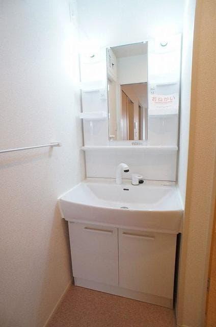 スプリング ゲート 02010号室の洗面所