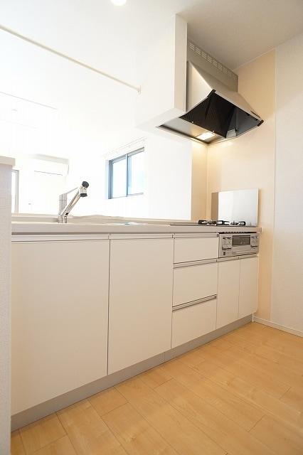 グラン・シャリオ シャトー B 02010号室のキッチン