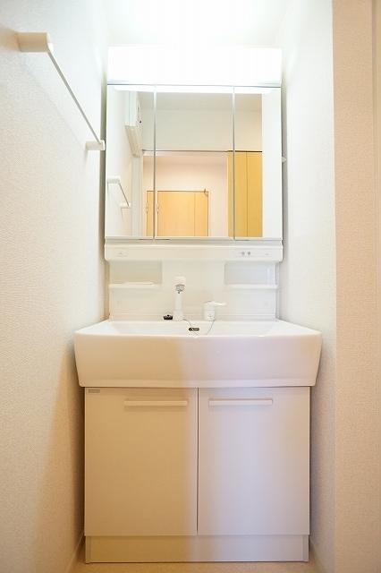 グラン・シャリオ シャトー B 02010号室の洗面所