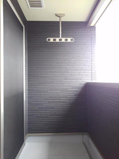 ベル フィオーレ 02040号室のバルコニー