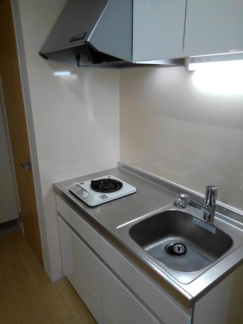 エラーブル港南 202号室のキッチン