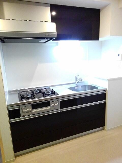 セゾン アキ 02040号室のキッチン